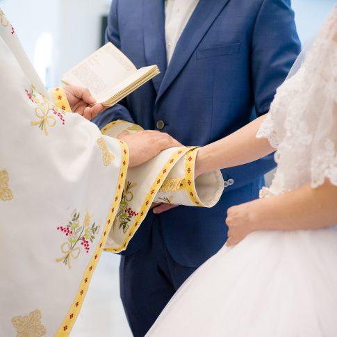 Stola bei einer griechisch-orthodoxe Hochzeit in Frankfurt