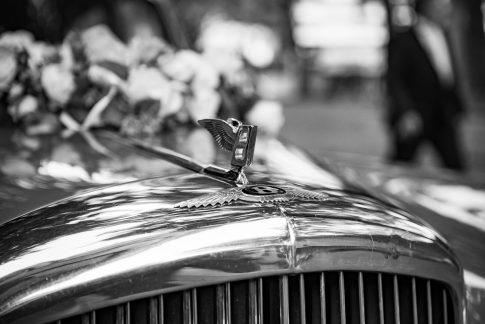 Hochzeitsauto Bentley in Köln und Niederkassel in Nordrhein-Westfalen