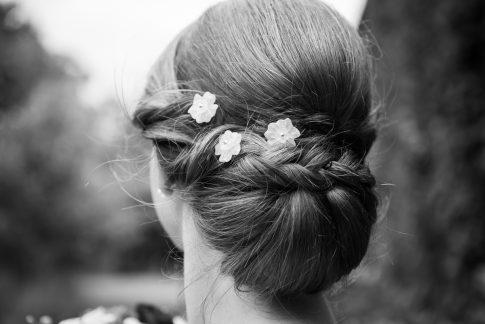 Kopfschmuck einer Braut