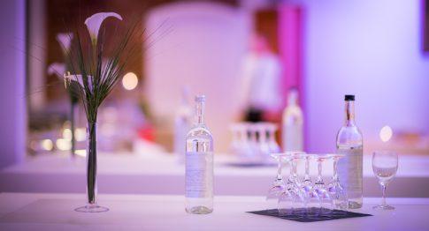Hochzeitsdekoration in Nels Parkhotel in Trier in Rheinland-Pfalz