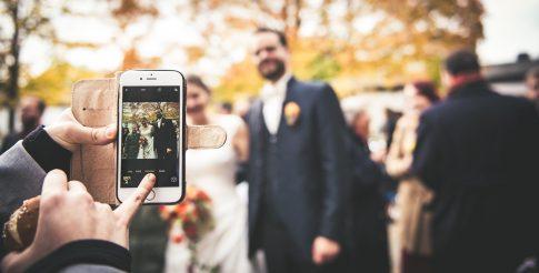 Hochzeitsfotograf unterwegs auf Hochzeit im Saarland