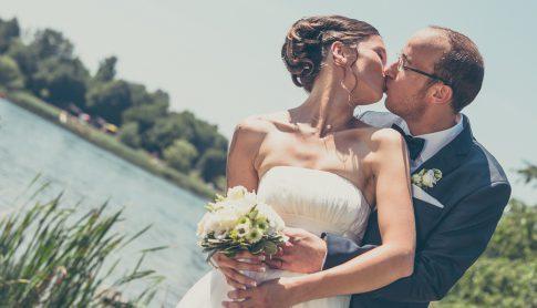 Brautpaarshooting am Losheimer See im schönen Saarland