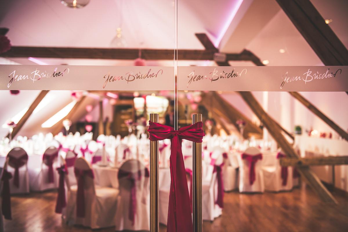 Hochzeitssaal des Weingut Jean Buscher