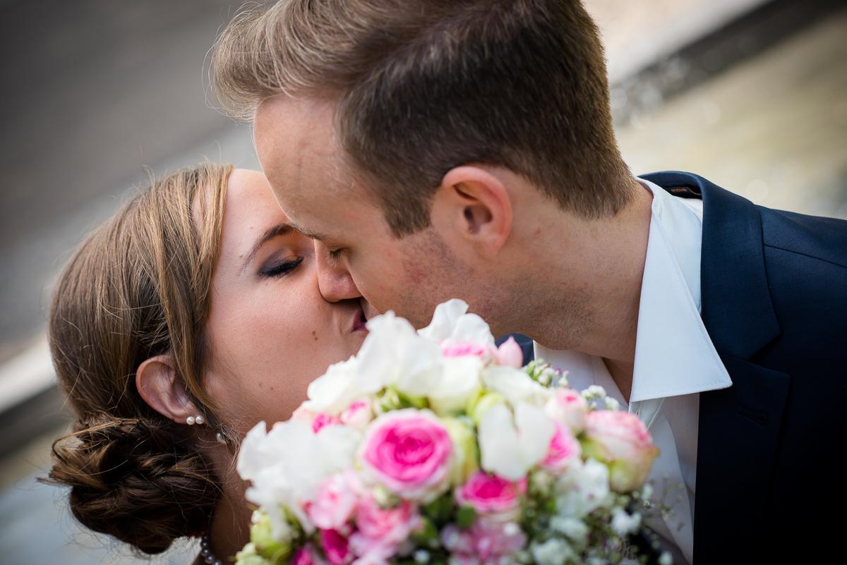 Brautpaarshooting in Worms mit dem Hochzeitsfotografen aus Rheinland Pfalz