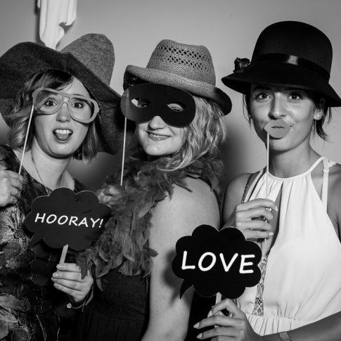 Bild aus Fotobox auf Hochzeit
