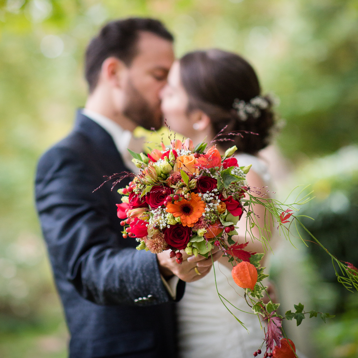 Brautstrauß vom Hochzeitsfotografen im Saarland