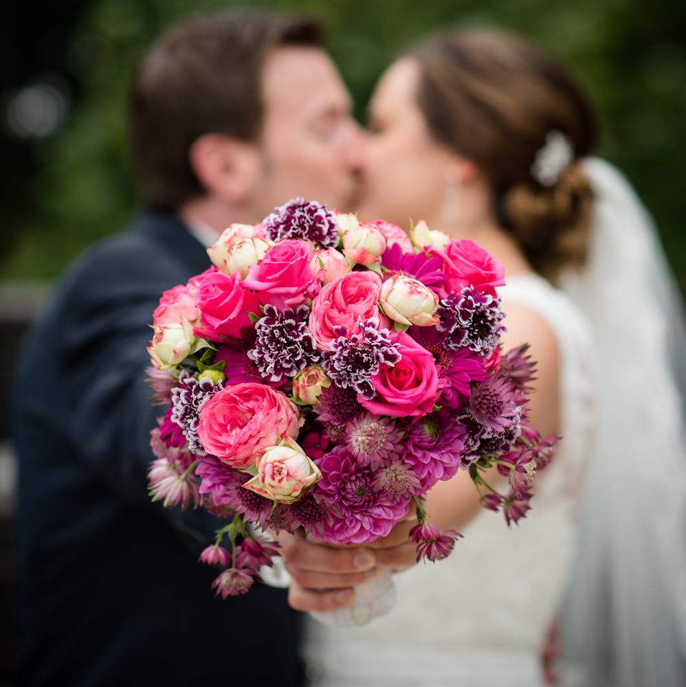 Brautstrauß von Blumen Spaniol