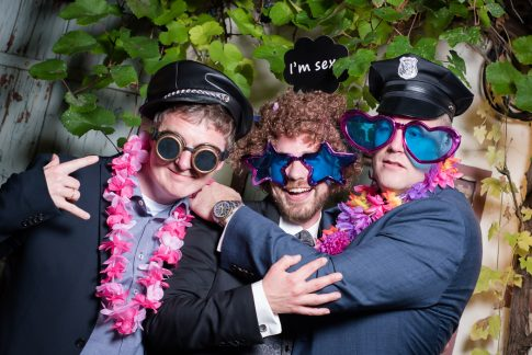 Fotobox auf Hochzeit im Saarland