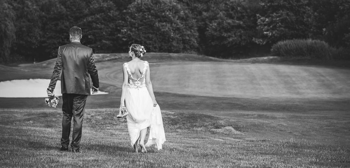 Brautpaar bei Brautpaarshooting im Saarland